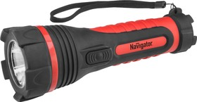 Фонарь Navigator 71 594 NPT-R08-2D Пластик + резина. 1LED 1Вт XXX