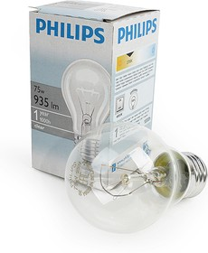 PHILIPS A55 75W E27 CL 354594, Лампа