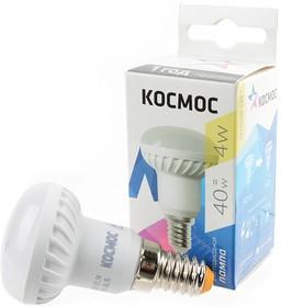 КОСМОС LED4wR39E1430 4Вт Е14 3000K BL1, Лампа светодиодная