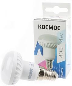 КОСМОС LED4wR39E1445 4Вт Е14 4500K BL1, Лампа светодиодная