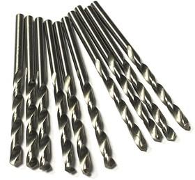 Сверла из кобальтовой быстрорежущей стали M35 3,6 мм 10 шт