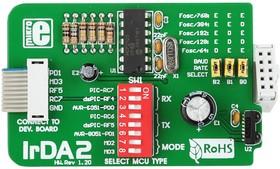 Фото 1/4 MIKROE-82, IrDA2 Board, Дочерняя плата с IrDA интерфейсом