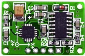 Фото 1/4 MIKROE-254, Three-Axis Accelerometer Board, Плата акселерометра на базе ADXL330