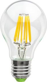NLL-F-A60-8-230-2.7K-E27 (71306), Лампа светодиодная 8Вт,220В (теплый)