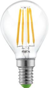 "NLL-F-G45-4-230-2.7K-E14 (71309), Лампа светодиодная ""шар"" 4Вт,220В (теплый)"