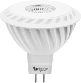 Лампа светодиодная NAVIGATOR 94 350 NLL-MR16-7-230- 3K-GU5.3-60D 7вт, GU5.3, 3000К, 53х50мм