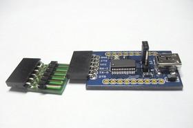 Фото 1/3 SERIAL USB CONVERTER FT232, Преобразователь из USB в UART, на базе FT232RL
