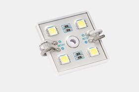 SMD-модуль 4 диода 5050 Оптимум белый