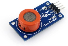Фото 1/5 MQ-3 Gas Sensor, Датчик газа для Arduino проеков, чувствителен к аклкоголю, этанолу