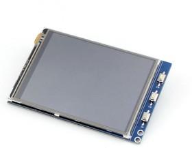 Фото 1/8 3.2inch RPi LCD (B), TFT дисплей 320×240px с резистивной сенсорной панелью для Raspberry Pi