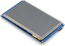 Фото 1/8 7inch HDMI LCD (B), HDMI дисплей 800×480px с емкостной сенсорной панелью для Raspberry Pi