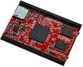 Фото 1/2 A20-SOM-n8GB, Встраиваемый одноплатный компьютер на базе процессора A20 Dual Core Cortex-A7