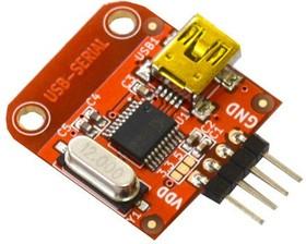 Фото 1/3 BB-CH340T, Преобразователь USB - Serial на базе CH340T