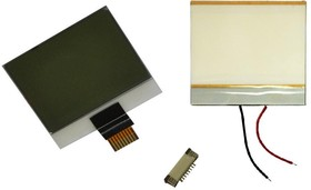 Фото 1/5 LCD DISPLAY NOKIA3310 KIT, Дисплей+подсветка+разъем для прототипирования переносных устройств