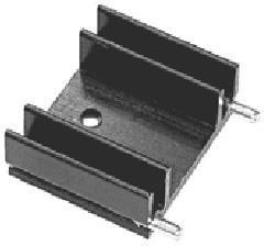 Фото 1/2 SK29-25S (V6560W), Радиатор ТО-220 L=25 мм
