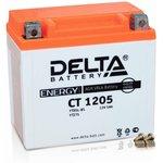 CT1205, Аккумулятор свинцовый 12B-5Ач 114х70х106 (для ...