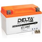 CT1207, Аккумулятор свинцовый 12B-7Ач 150х86х94 (для мототехники)