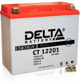 CT12201, Аккумулятор свинцовый 12B-20Ач 177х88х154 (для мототехники)