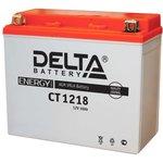 CT1218, Аккумулятор свинцовый 12B-18Ач 177х88х154 (для мототехники)