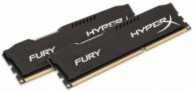 Модуль памяти KINGSTON HyperX FURY Black Series HX316C10FBK2/16 DDR3 - 2x 8Гб 1600, DIMM, Ret