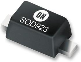 NSR0620P2T5G, Диод Шоттки малого сигнала, Одиночный, 20 В, 500 мА, 520 мВ, 1 А, 125 °C