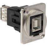Фото 3/3 CP30207NM, Адаптер USB, Гнездо USB Типа B, Гнездо USB Типа A, USB 2.0, FT Series