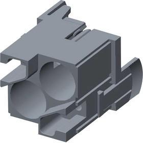 T2111027101-702, Разъем для тяжелых условий, HMN Series, Insert, 2 Contacts, Штекер