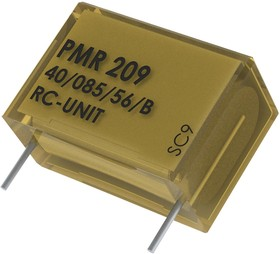 Фото 1/2 PMR209MC6100M022R30, Конденсатор Безопасности, 0.1 мкФ, X2, серия PMR209, 250 В, Metallized Paper
