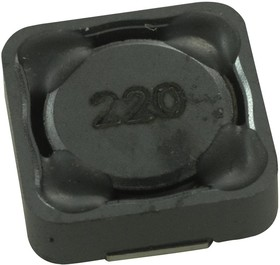 SRR1240-1R0Y, Силовой Индуктор (SMD), 1 мкГн, 9.3 А, Экранированный, 9.2 А, Серия SRR1240, 12.5мм x 12.5мм x 4мм