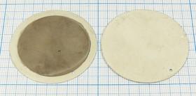 Пьезоэлектрическая диафрагма диаметром 45мм и толщиной 0.65мм, пб 45x0,65\\D\ 1,8~2,8\2C\\