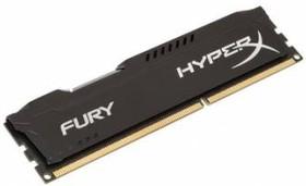 Модуль памяти KINGSTON HyperX FURY Black Series HX316C10FB/8 DDR3 - 8Гб 1600, DIMM, Ret