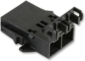 Фото 1/2 42818-0312, Разъем типа провод-плата, 10 мм, 3 контакт(-ов), Штекер, Mini-Fit Sr. 42818 Series, Обжим