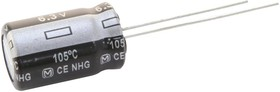 EEUFR1H121LB, Электролитический конденсатор, 120 мкФ, 50 В, Серия FR, ± 20%, Радиальные Выводы, 8 мм