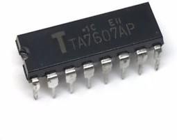 TA7607AP,P, ИМС радиоканала ТВ