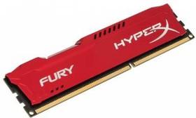 Модуль памяти KINGSTON HyperX FURY HX318C10FR/8 DDR3 - 8Гб 1866, DIMM, Ret