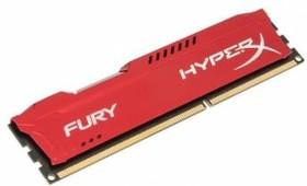 Модуль памяти KINGSTON HyperX FURY Red Series HX316C10FR/4 DDR3 - 4Гб 1600, DIMM, Ret