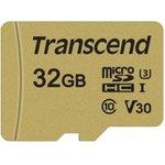 TS32GUSD500S, Флеш-накопитель Transcend Карта памяти ...