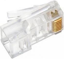 Коннектор (APJ11) UTP кат.5e RJ45 (упак.:100шт)   купить в розницу и оптом