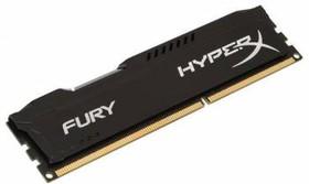 Модуль памяти KINGSTON HyperX FURY Black HX313C9FB/4 DDR3 - 4Гб 1333, DIMM, Ret