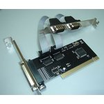 Контроллер PCI WCH353 1xLPT 2xCOM Bulk [asia pci 2s1p]