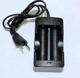 Фото 1/2 HZM-040X(HZM950), Зарядное устройство для аккумуляторов (2х18650), 2х0.5А