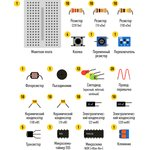 Фото 5/8 Микроник, Набор для изучения основ электротехники для детей младшего школьного возраста (от 7 лет)