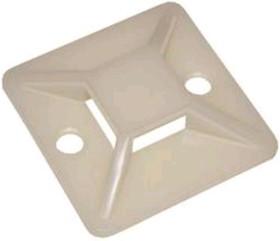 SQ0516-0001 (упаковка из 100), Площадка 20х20 под хомуты самоклеющаяся