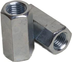 MB0800008-P3, Гайка соединительная оцинк. М8 DIN6334 уп. - 2 шт. (фасов.)