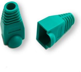 GA-RJ45-GR-10, Колпачок для коннектора 8p8c RJ-45 Greenaccessories изолирующий зеленый (10шт)