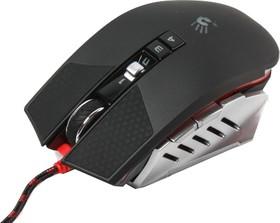 Мышь A4 Bloody TL60 Terminator лазерная проводная USB, черный и серый