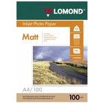 Фотобумага Lomond 0102002 A4/100г/м2/100л./белый ...
