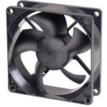 Вентилятор GLACIALTECH GT-8025EDLA(B)1, 80мм, Bulk