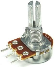 16K1-10C10K, L15KC, 10 кОм (без крепежа), Резистор переменный