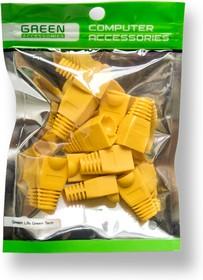 GA-RJ45-YL-10, Колпачок для коннектора 8p8c RJ-45 Greenaccessories изолирующий желтый (10шт)